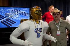 NASA Robonaut 2A  and Me