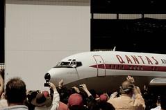 Qantas 90th Birthday Travolta Taxis In