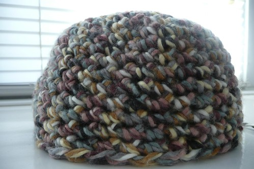 Cloche Beanie - almost finished