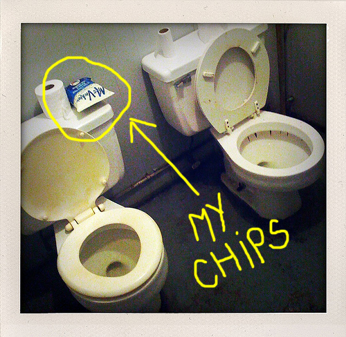 shitter chips.