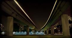 night rail (wongyokeseong) Tags: street night train photoshop singapore flickr candid sony watching lakeside adobe nightscene mrt lightroom 地下鉄 夜 t200 地鐵 新加坡 軌道 湖畔 cs5 sonydsct200 dsct200 sonyt200