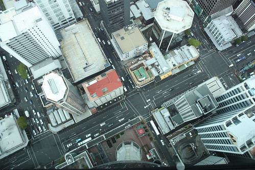 Sky tower vista de Auckland