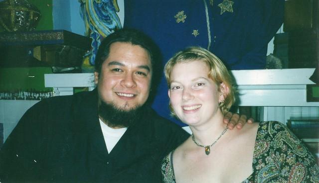 Frank and I circa 1999