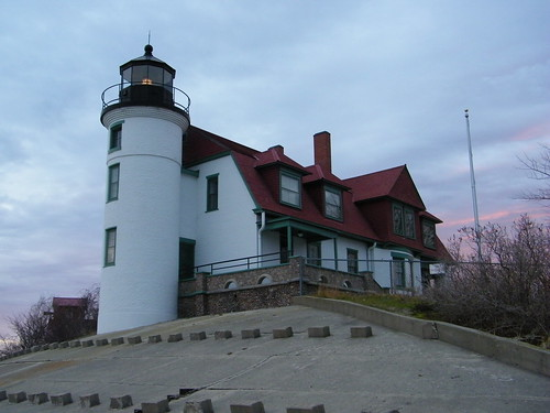 Point Betsie Lighthouse During Autumn Morning (Frankfort, Michigan)