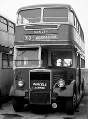 Sandtoft Trolley Museum South Yorkshire Easter 1974 (loose_grip_99) Tags: uk england bus museum 1974 blackwhite noiretblanc yorkshire vehicles southyorkshire sandtoft