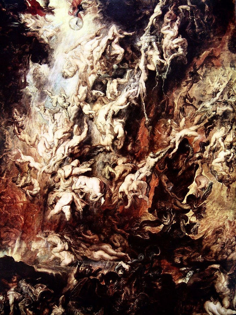 Peter Paul Rubens (Flemish, 1577-1640) Fall of the Rebel Angels (1620) Alte Pinakothek, Munich.
