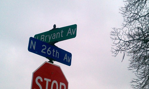 N Bryant Ave at N 26th Av