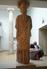 Caryatid (back), Erechtheion, Acropolis, Athens