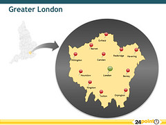 Map of Greater London, England (24point0) Tags: london map greater editable