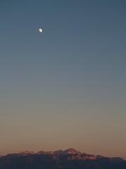 far from the truth (jtduret) Tags: moon mountain lausanne magichour leman