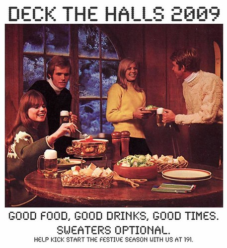 deck the halls invite