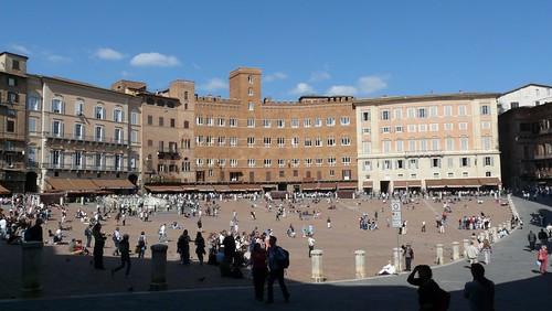 Piazza Il Campo - Siena, Itália