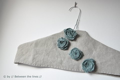 fabric roses - DIY Gift Ideas