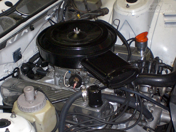 Old air cleaner on Rover SD1