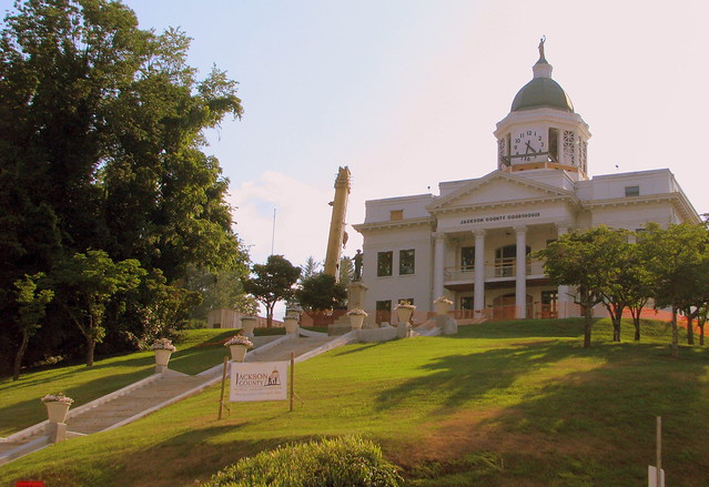 Jackson Co. Courthouse - Sylva, NC