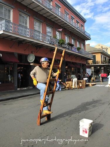street performer ,new orleans