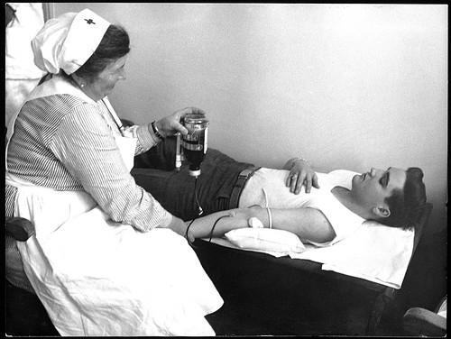 Elvis Donating Blood