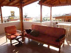 turkish rooftop terrace in Mersin