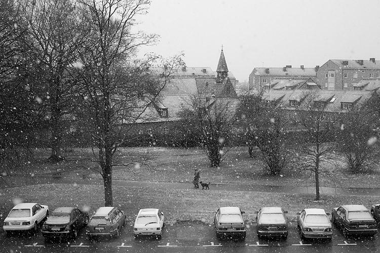 Snön faller och vi med den
