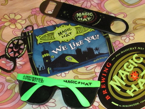 Magic Hat loves me!