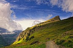 Morning Glory (Phil's Pixels) Tags: montana trails explore glaciernationalpark cloudscape hikes loganpass birdwomanfalls highlinetrail haystackbutte