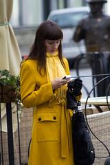 Yellow Coat Lady