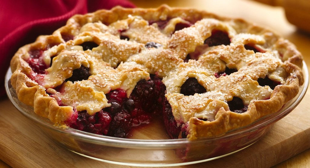 Raz-Black-Blue Pie Recipe