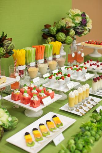 veggie dessert table 5