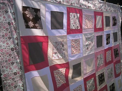 Sienna's quilt (top)