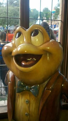 Mr. Toad himself!
