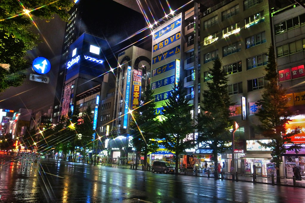 Akiba Rainny Night