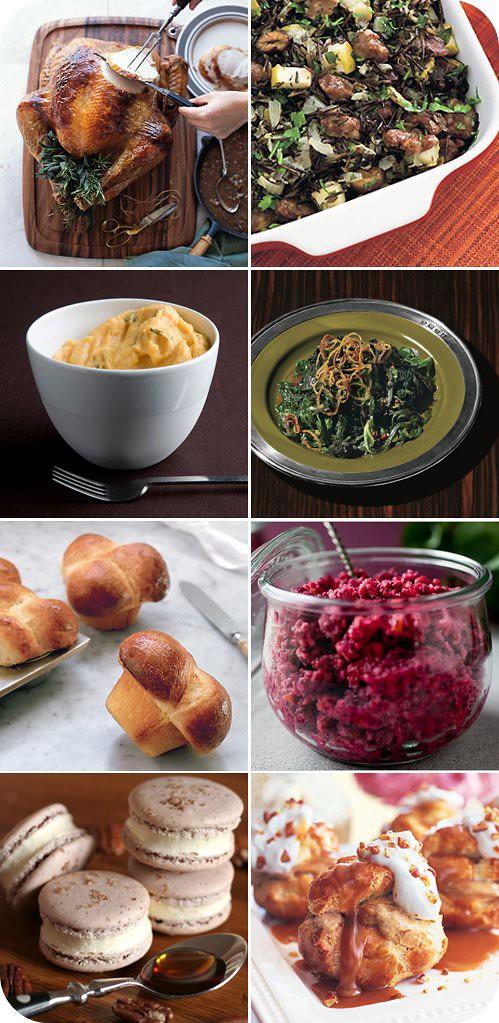 thanksgiving recipes (blogged)