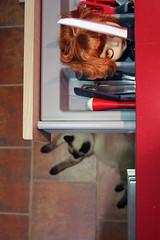 BadGirls II (erregiro) Tags: girls kitchen smile nose eyes funny doll bad knife makeup kitty carving lips story moore horror terror blythe afraid custom natasha aubrey chio sbl terrific rbl erregiro primadolly
