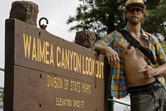 Waimea_Canyon_lookout_sign (evanmitsui) Tags: travel vacation hawaii tropical hanalei kaui hanaleibay travelphotography