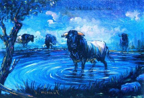 Torito de la Laguna, por Goyo Menaut