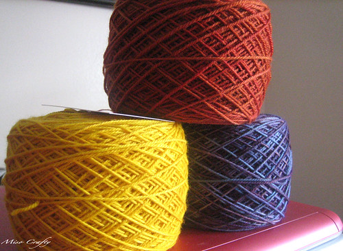 Sock Yarn Trio