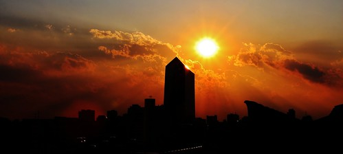 Philadelphia Sunset 004 by Darryl W. Moran Photography