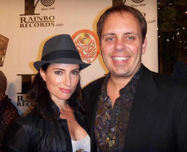 Samantha Gutstadt, John Enghauser, LA Music Awards 2010
