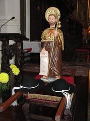 Figura św. Jakuba z Simoradza