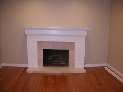 Help How To Trim Fireplace Gap After Floor Install Pics
