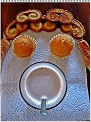 Mi desayuno y yo :-))) por Jesús Celma :-)) :-))