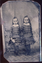 tintype Keim 11 (rkeim38) Tags: family ny vintage print bradford grandmother cabinet antique 1800s victorian tintype prints cartedevisite titusville allegany keim leonora caufield alleganyny clarencekeim keimfamily leonoracaufieldkeim