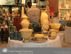 Large Buddha Head by Urban Trends (UTCollection.com) Tags: sculpture elephant art statue urn ceramic wooden bottle antique buddha bowl bamboo container pot cherub jar vase products lantern resin stool pitcher candleholder rattan tealight artichoke tuscan accessory