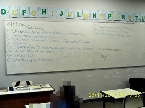 Rotina prevista - e cumprida (29/11/2010)