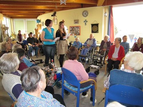 Lesung im Seniorenheim Sonnenhang