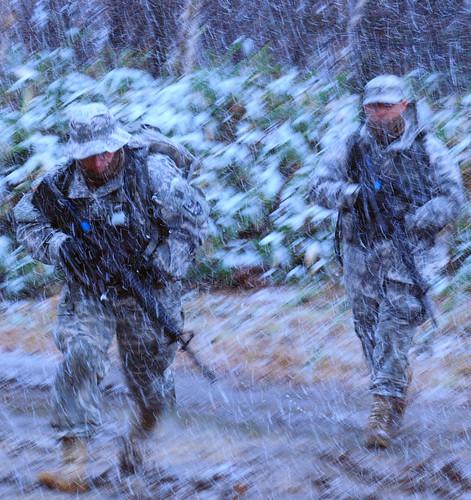 フリー写真素材, 社会・環境, 戦争・軍隊, 兵士, 雨, アメリカ陸軍, 自衛隊,