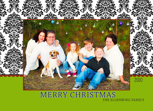 Ellenburg Holiday Card A4