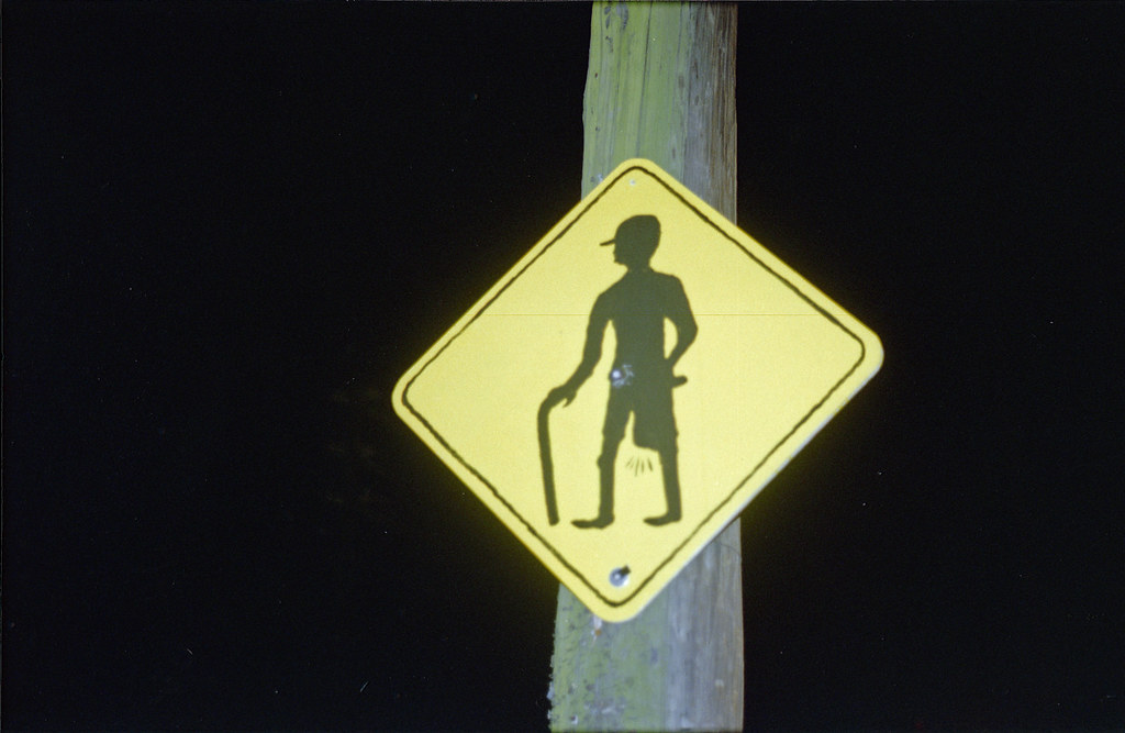 Bicycle Shorts Man sign