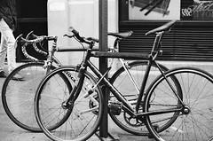 Behind the Scenes: Travel Channel's Series on NYC Bike Messengers (John Watson / The Radavist) Tags: nyc people blackandwhite film 35mm documentary gothamist dispatch trackbikes bikemessengers travelchannel fixedgears streetsblog nycbikemessengers nyclife