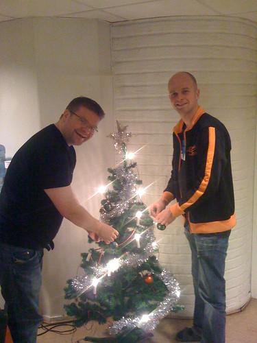 Jul på skrivars